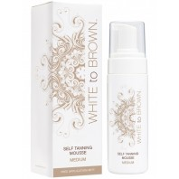 Whitetobrown Self Tanning Mousse - Medium (150 ml)